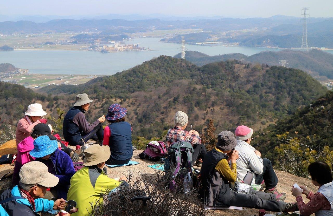 現地集合 貝殻山 288m(岡山市)